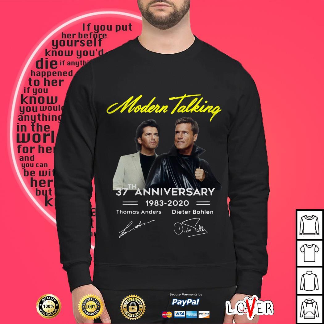 Modern talking 37th anniversary 1983 2020 Sweater