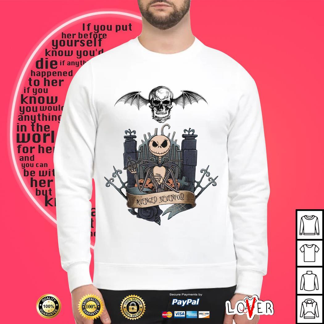 Official Jack Skellington Avenged Sevenfold Sweater