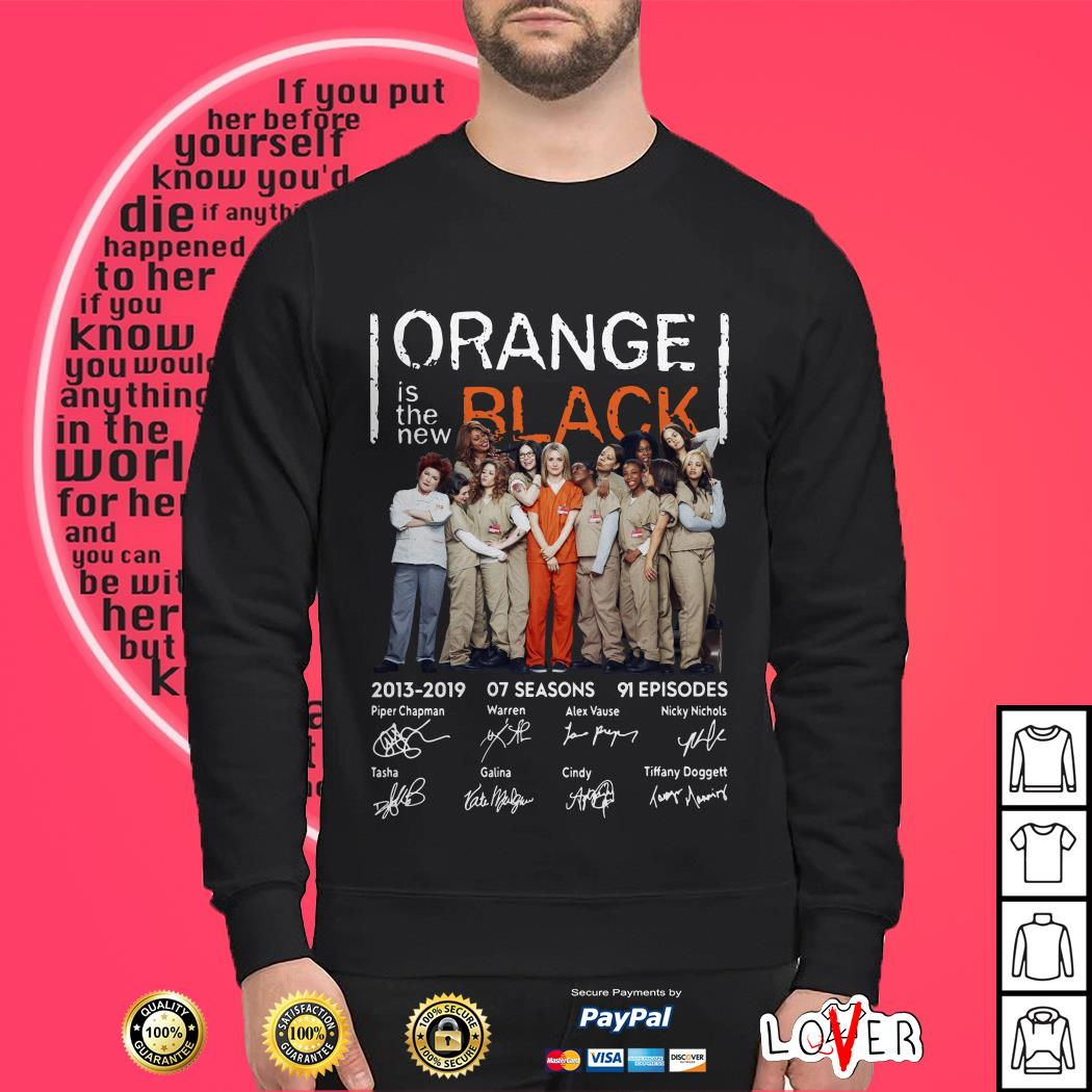 Official Orange is the new Black signature shirt