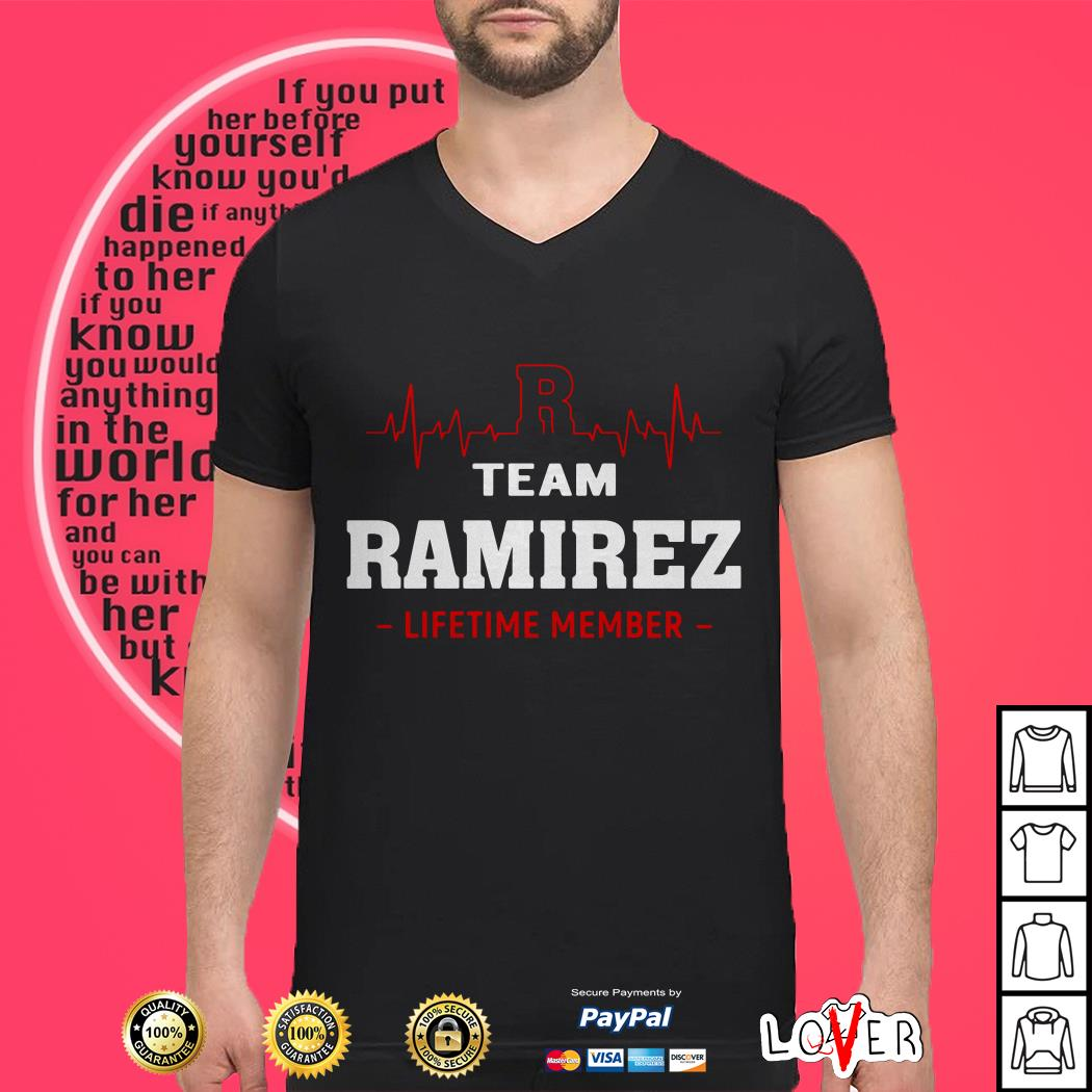 R team Ramirez lifetime member shirt