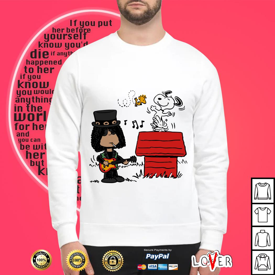 Slash and Snoopy Sweater