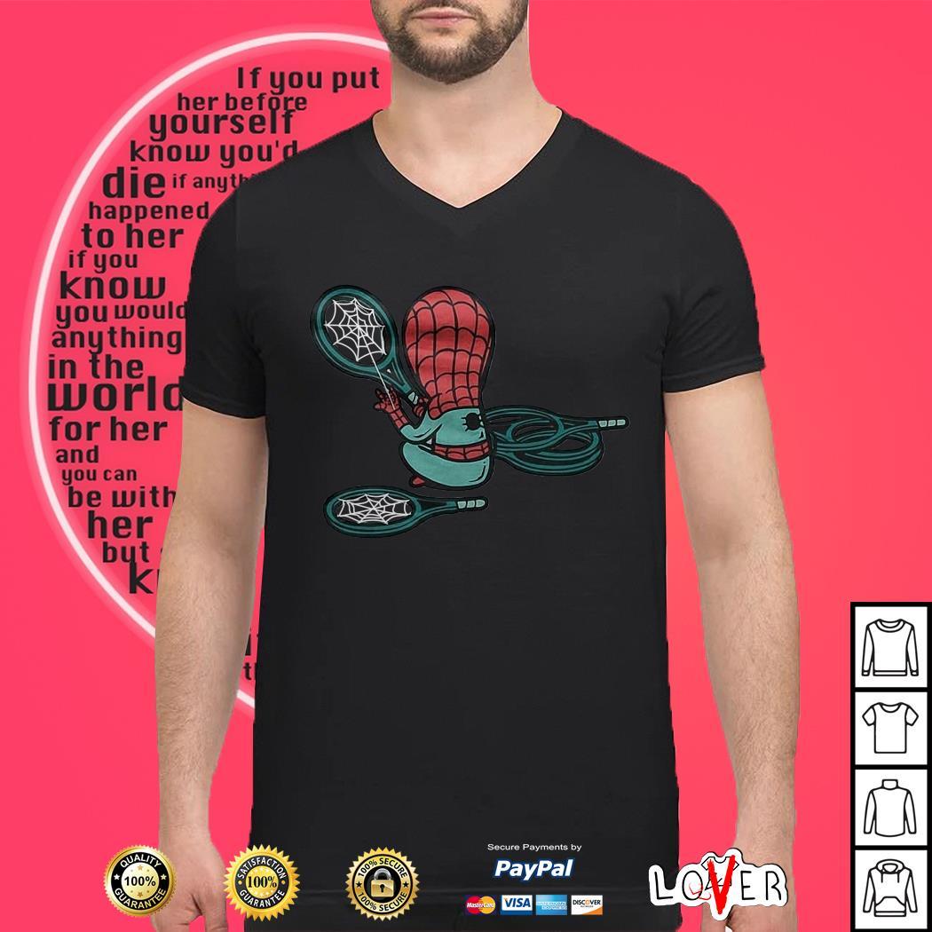 Spider-Man and Tennis shirt