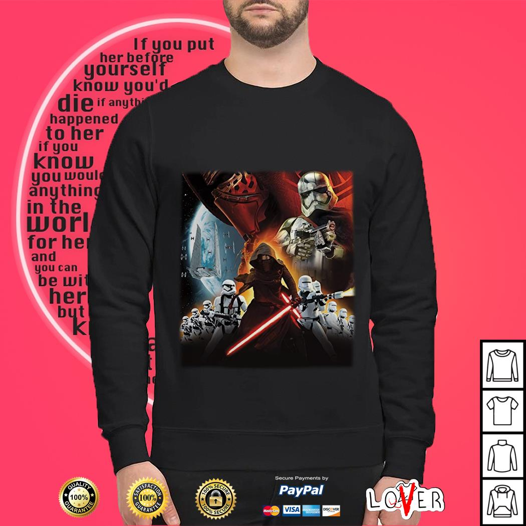 Star Wars Stormtroopers villains poster Sweater