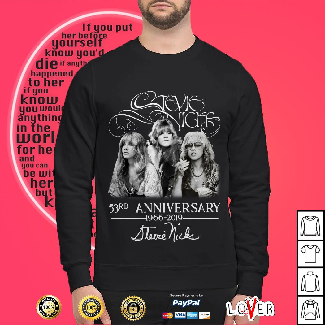 Stevie Nicks 53rd Anniversary 1966-2019 Sweater