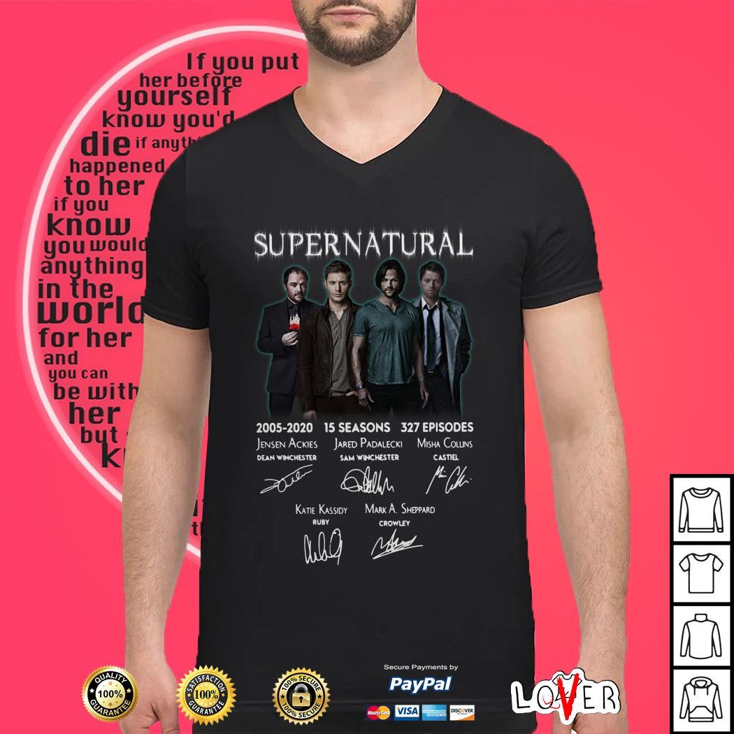 Supernatural TV Series 2005-2020 shirt