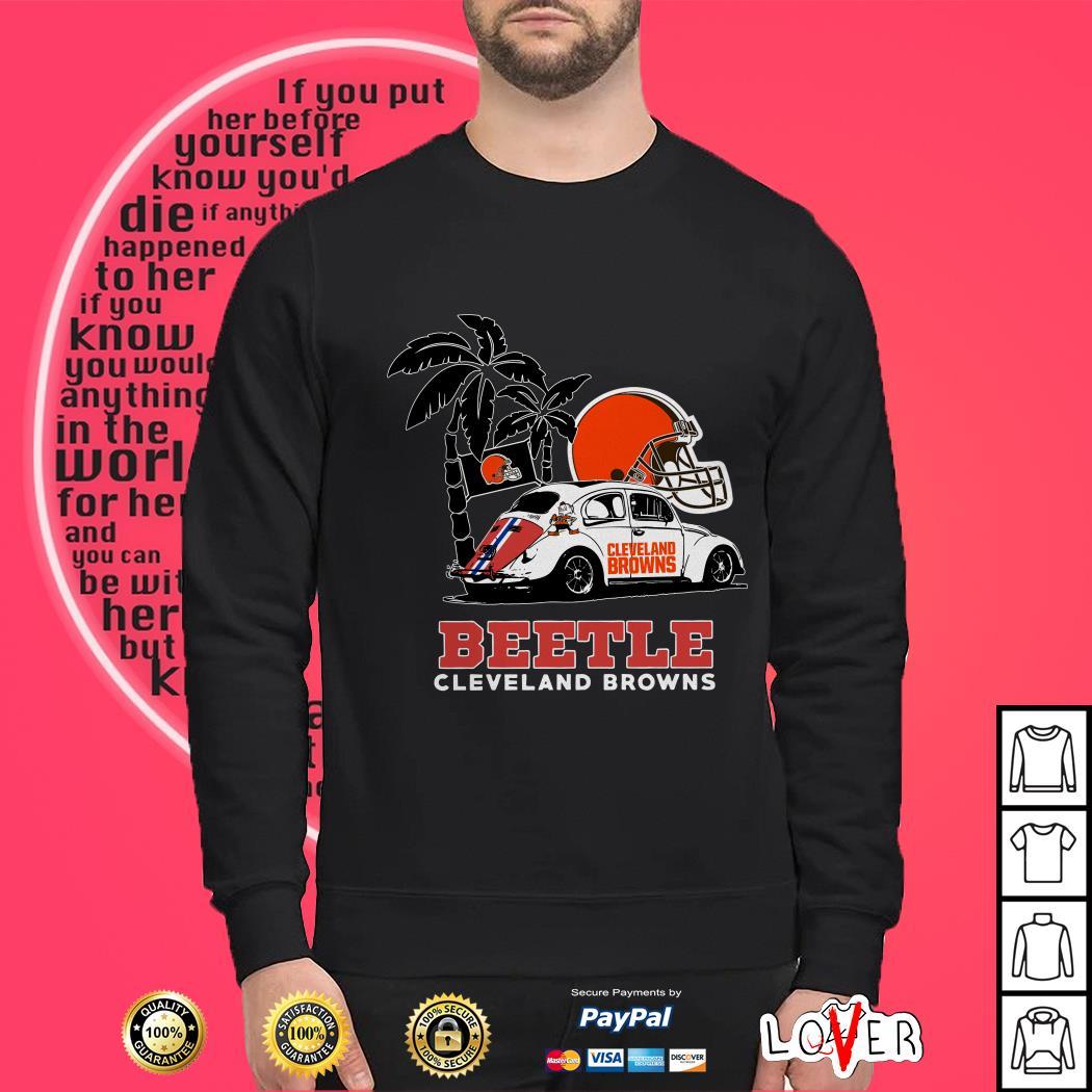 Volkswagen Beetle Cleveland Browns shirt