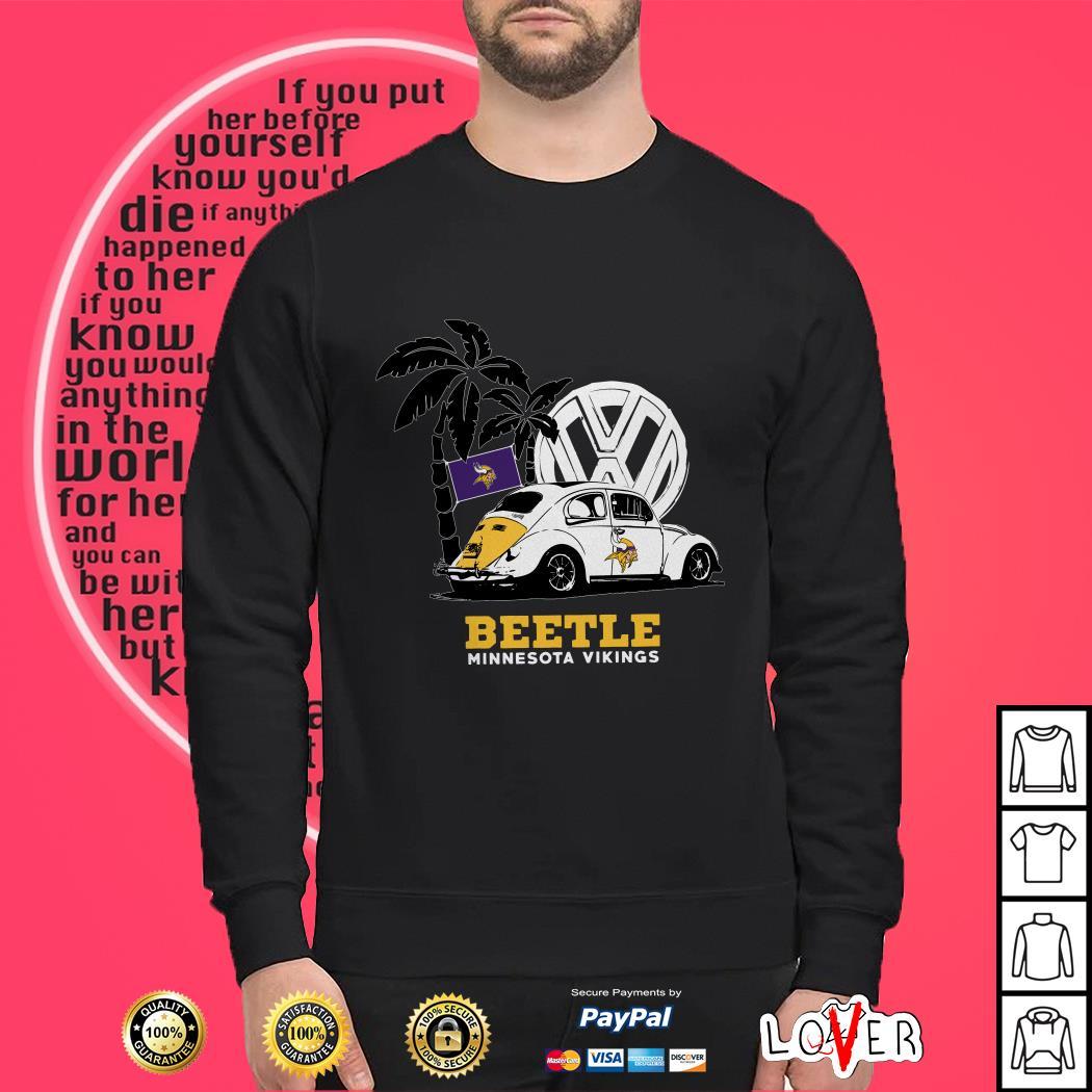 Volkswagen Beetle Minnesota Vikings shirt