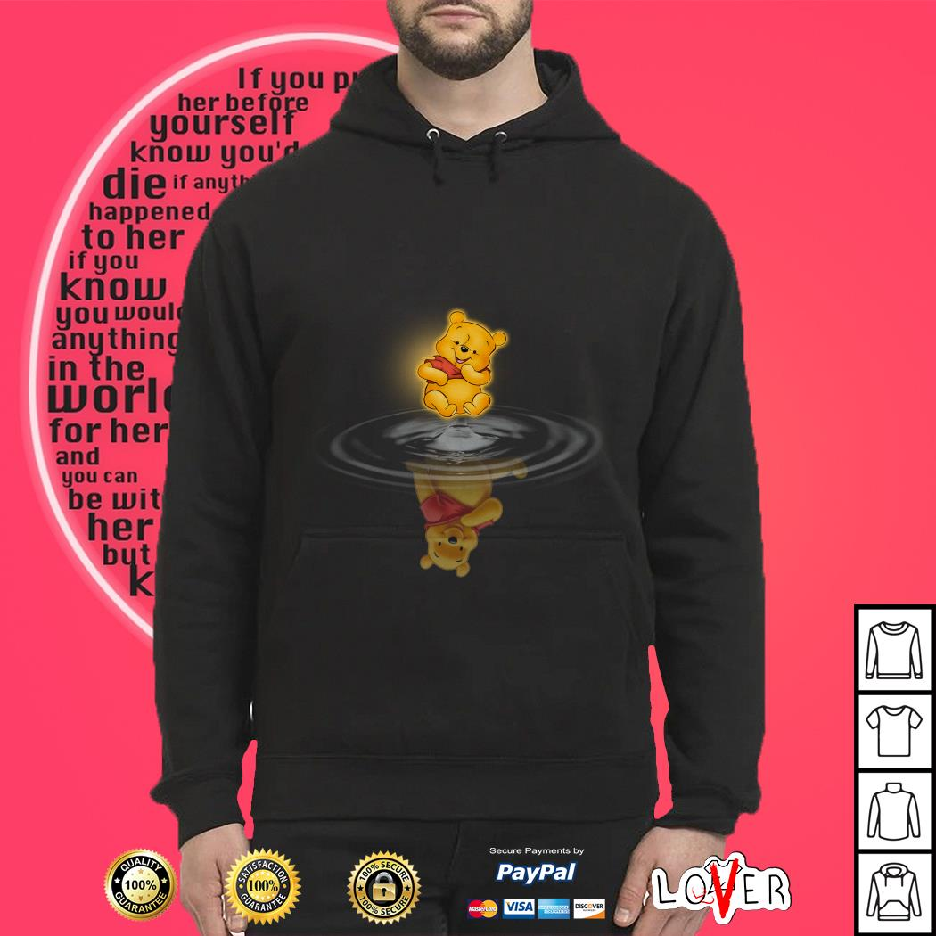 Winnie the Pooh Water Reflection Hoodie