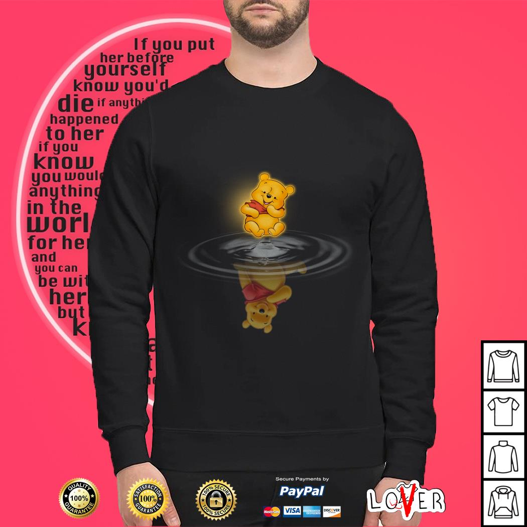 Winnie the Pooh Water Reflection Sweater