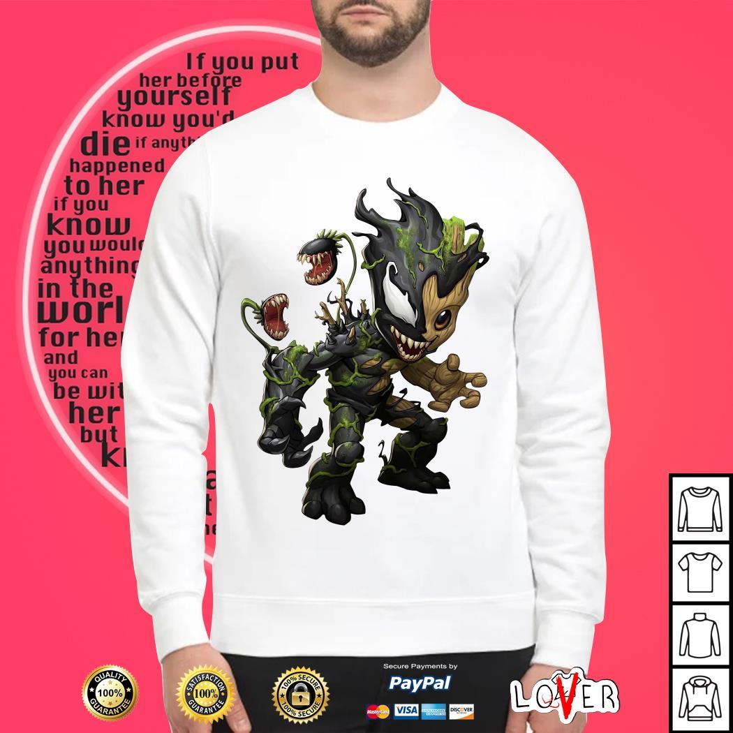 Baby Groot Venom shirt