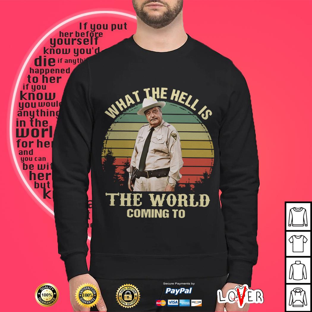 Jackie Gleason What The Hell Is The World Coming To shirt