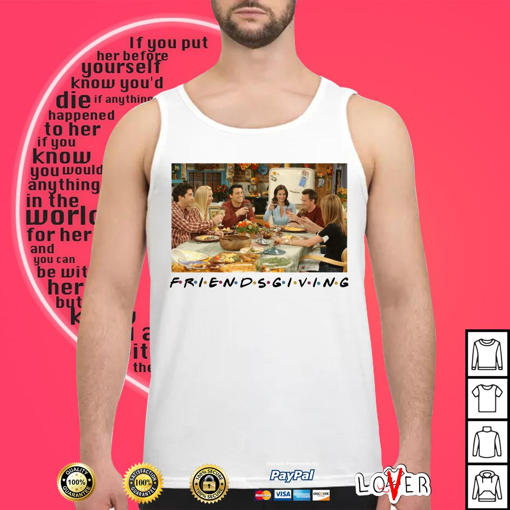 friendsgiving friends tv show thanksgiving shirt