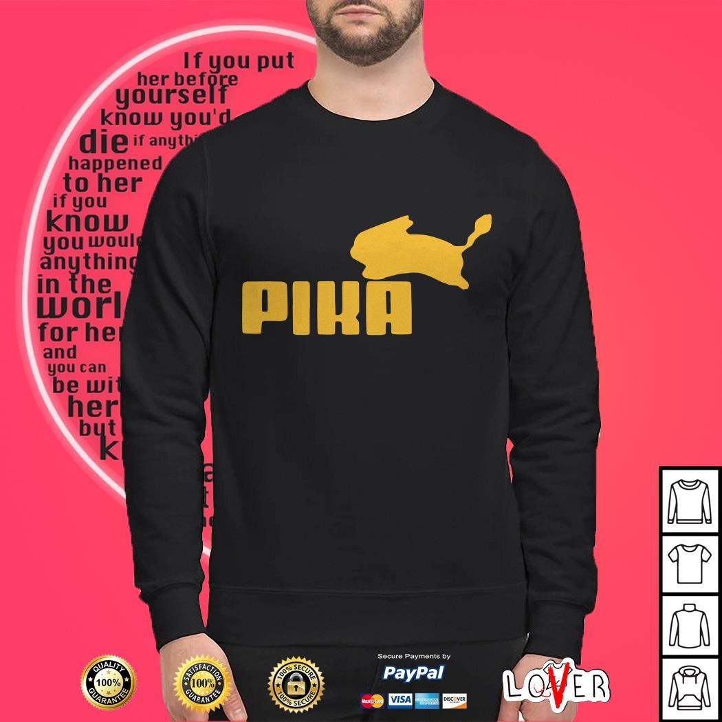 Pokemon Pikachu Puma shirt