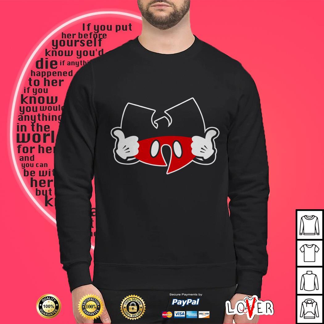 Wutang clan Mickey mouse shirt