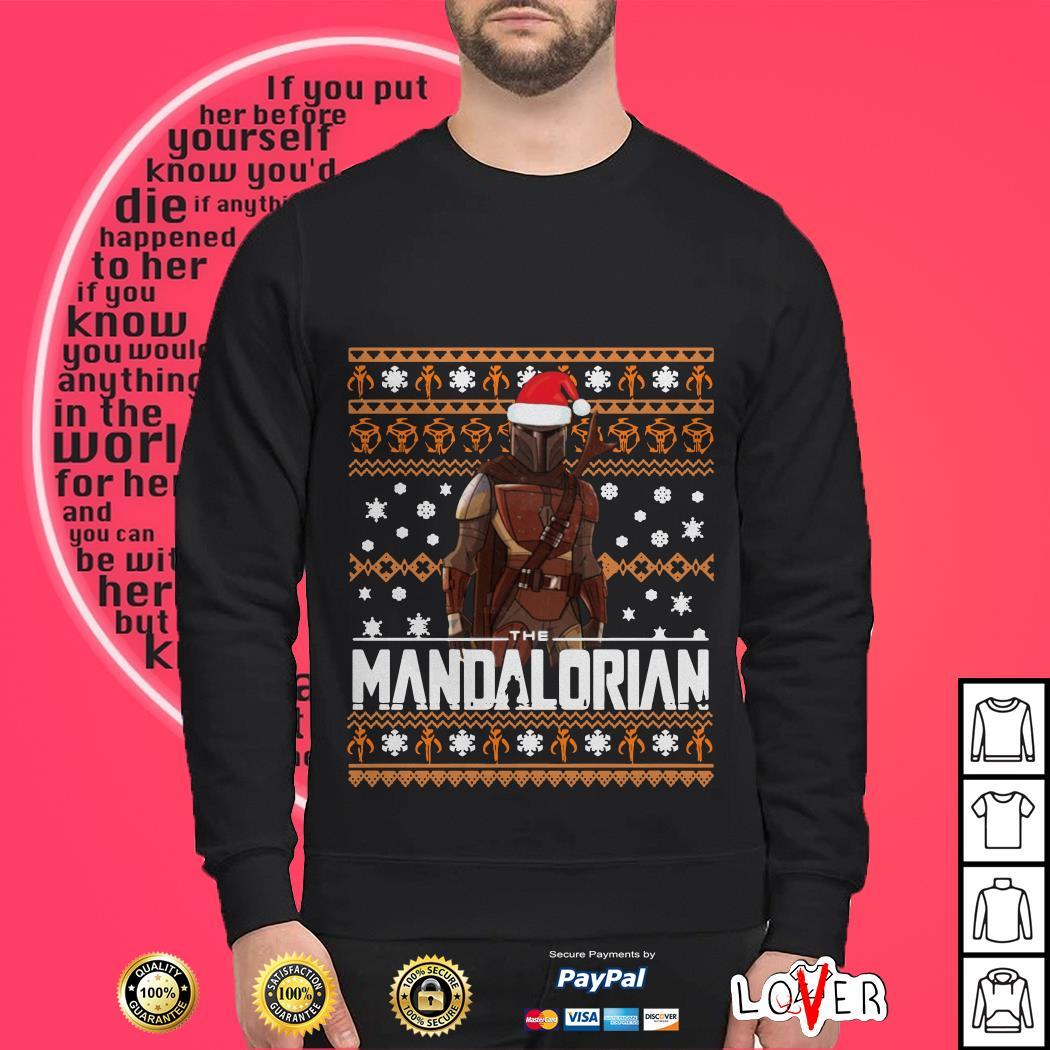 The Mandalorian ugly Christmas shirt