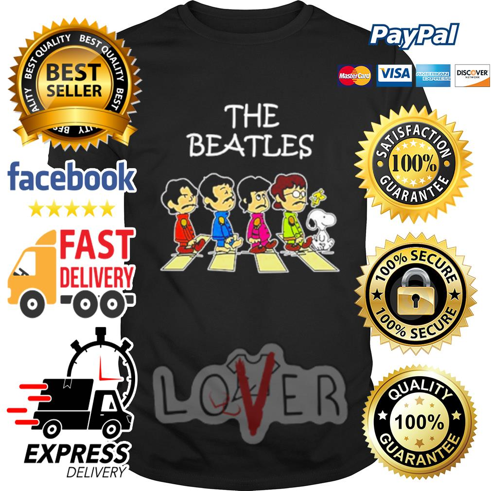 The Beatles Snoopy Road Abbey shirt