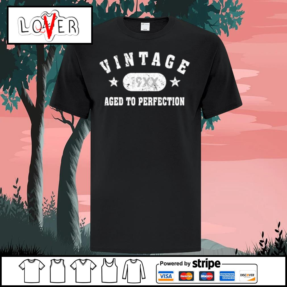 Black Vintage 19XX aged to perfection shirt