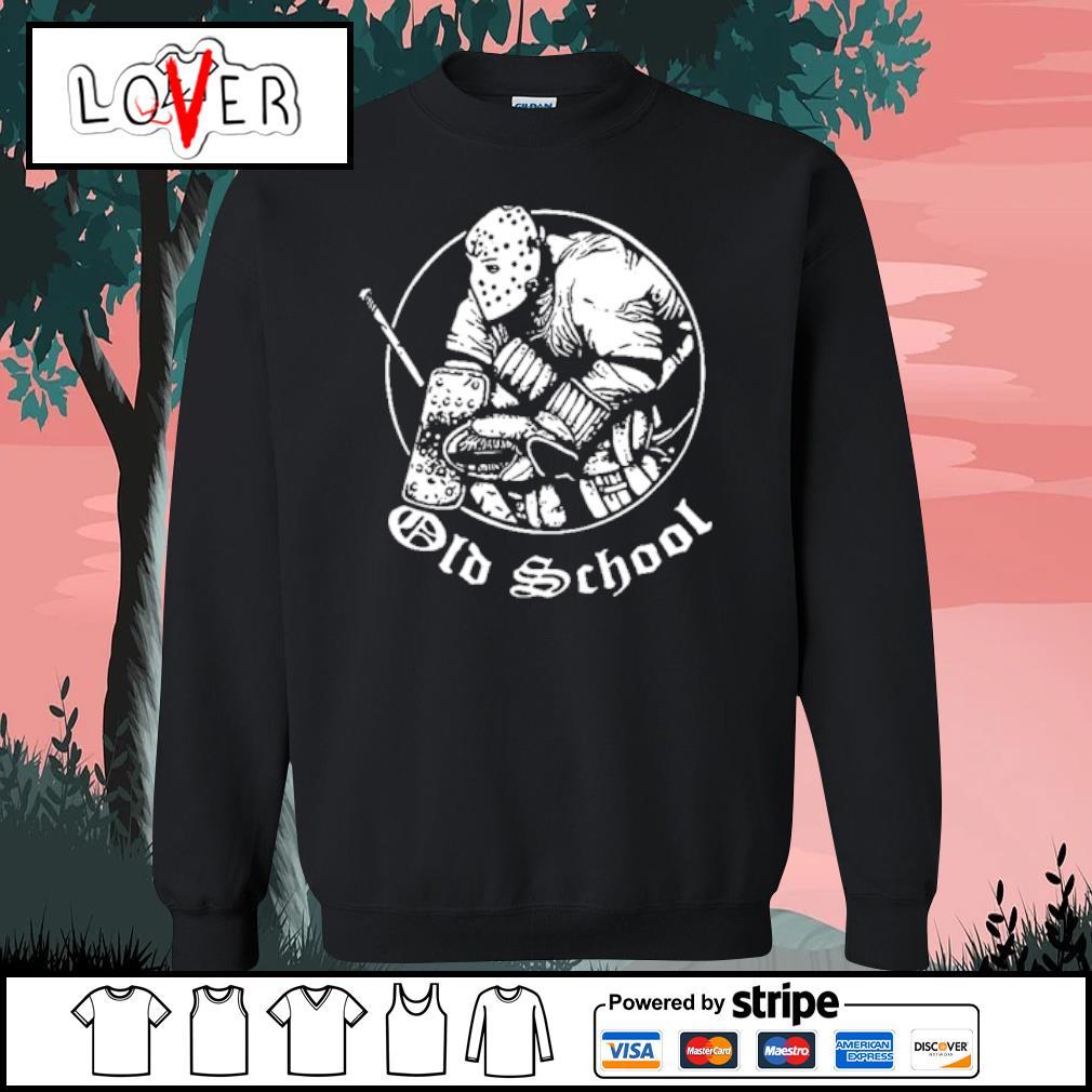 Hockey Goalie Old School s Sweater