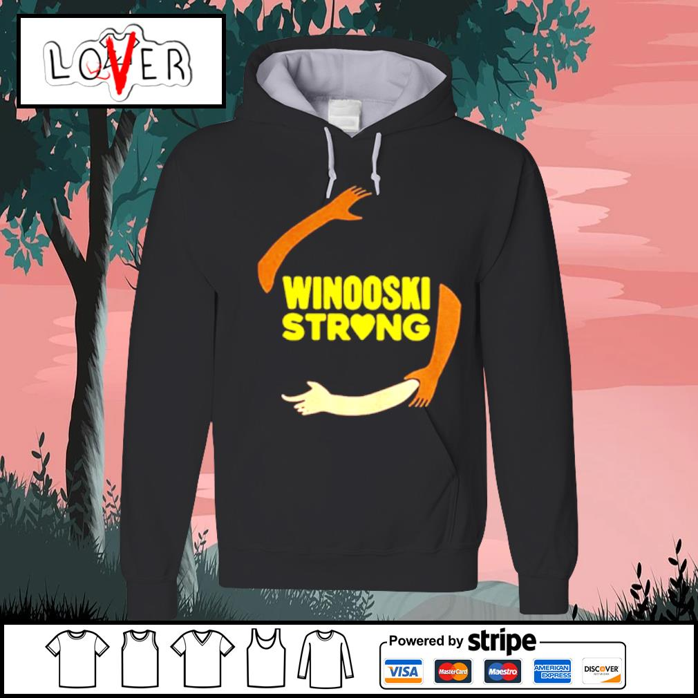 Official hand some Winooski Strong Shirt Hoodie