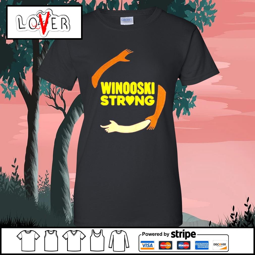 Official hand some Winooski Strong Shirt Ladies tee
