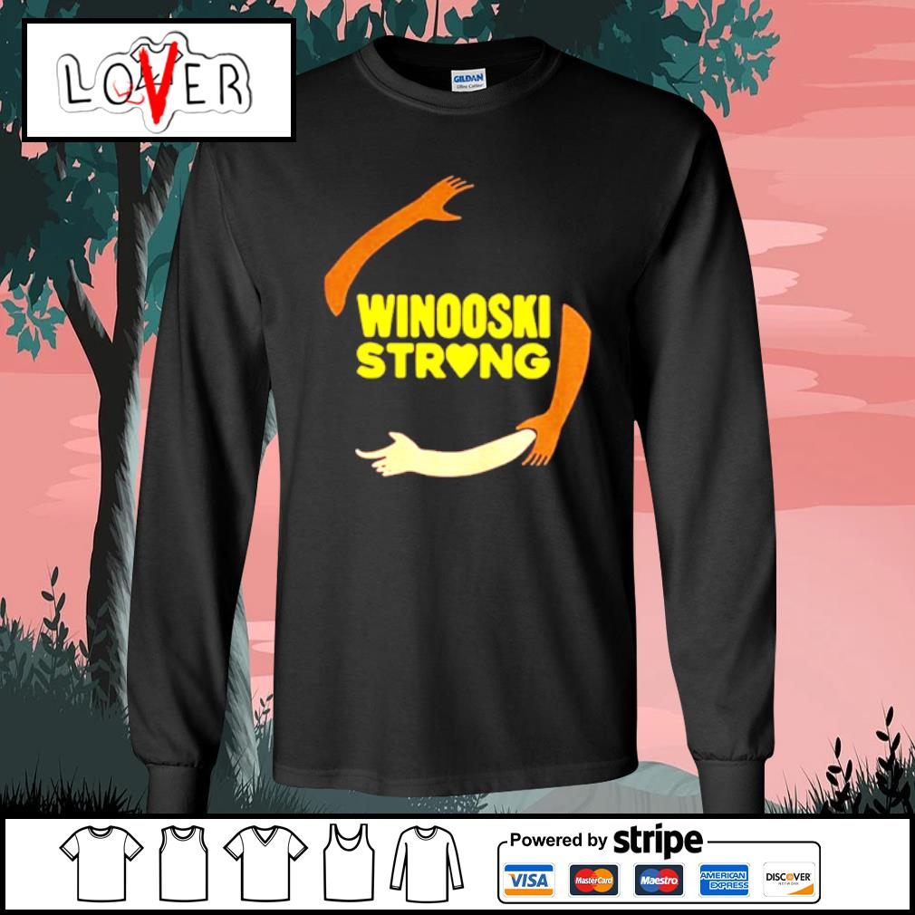 Official hand some Winooski Strong Shirt Long Sleeve Tee