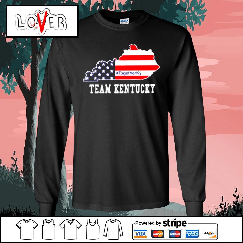 #TogetherKy Team Kentucky Shirt Long Sleeve Tee