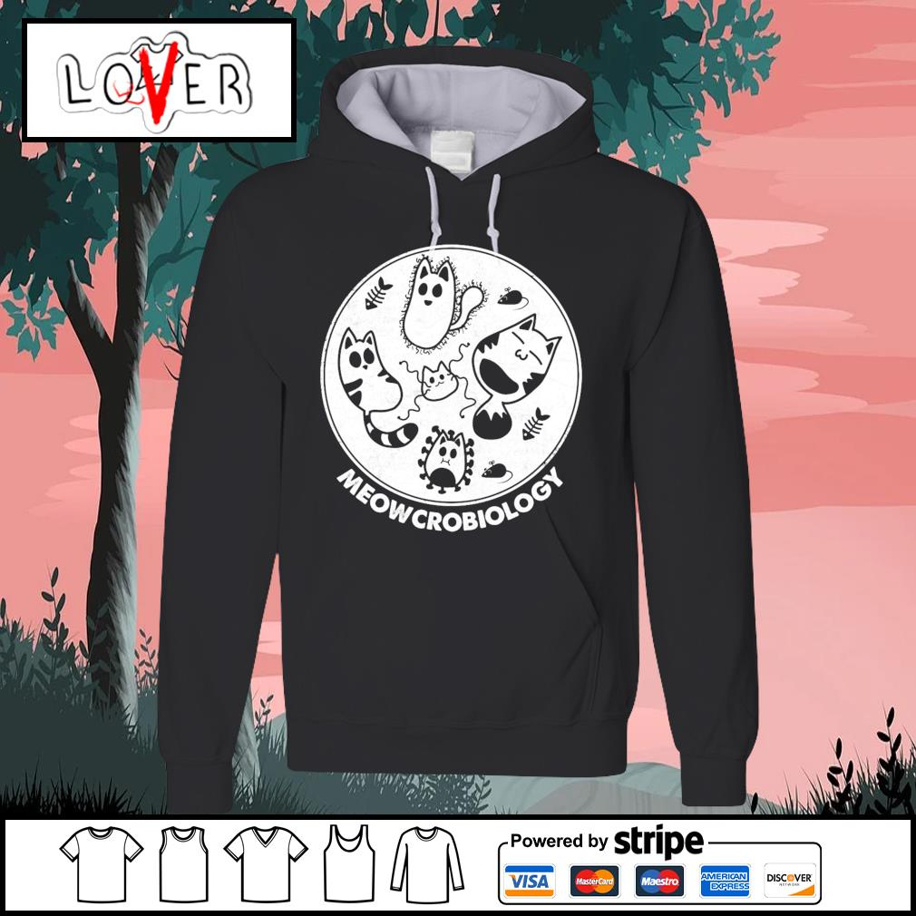 Cats Meowcrobiology Happy Halloween s Hoodie