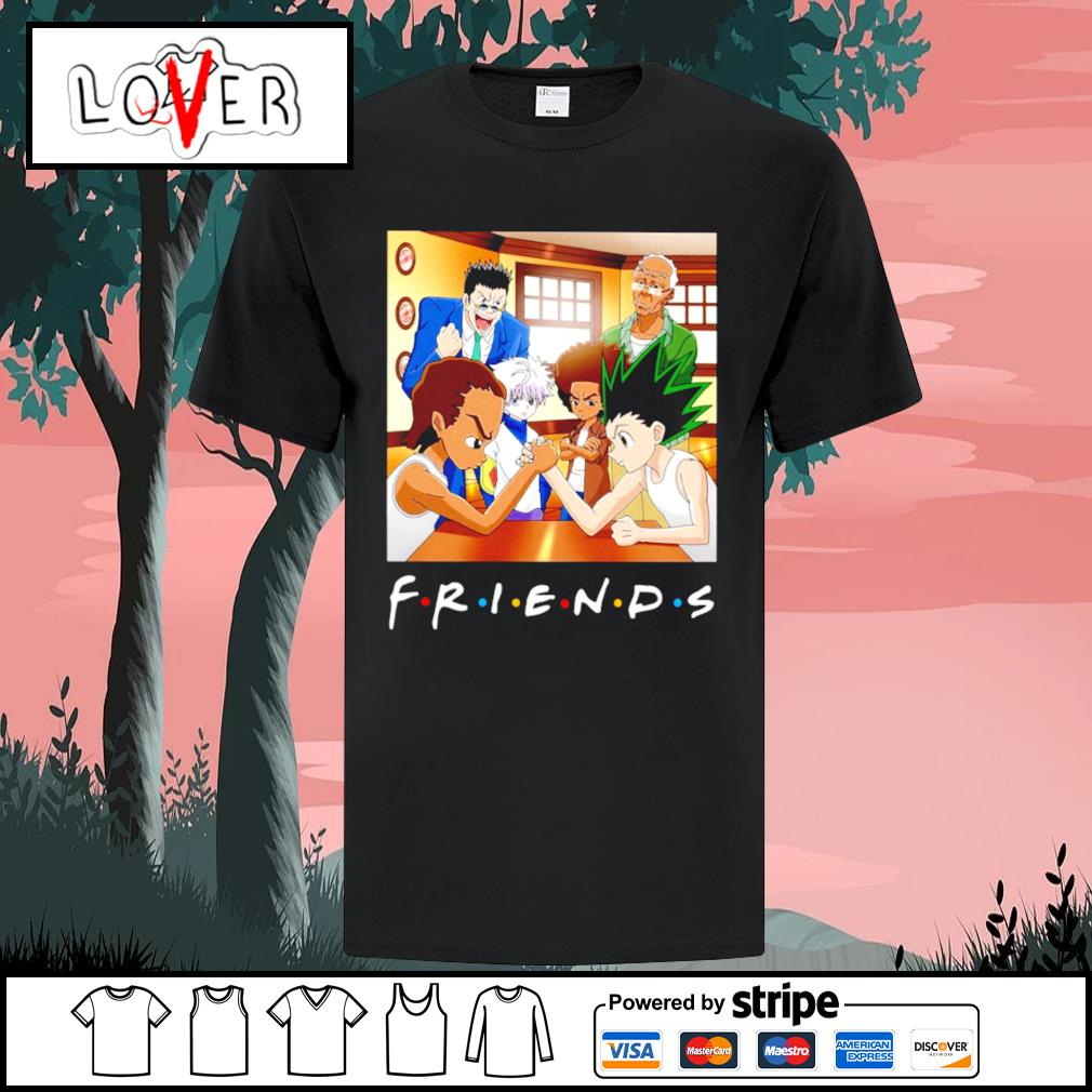 Hunter x Boondocks friends tv show shirt