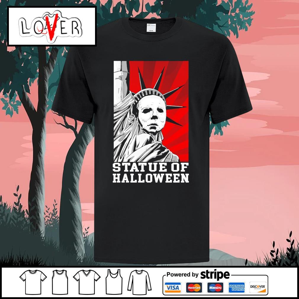 Michael Myers statue of Halloween shirt