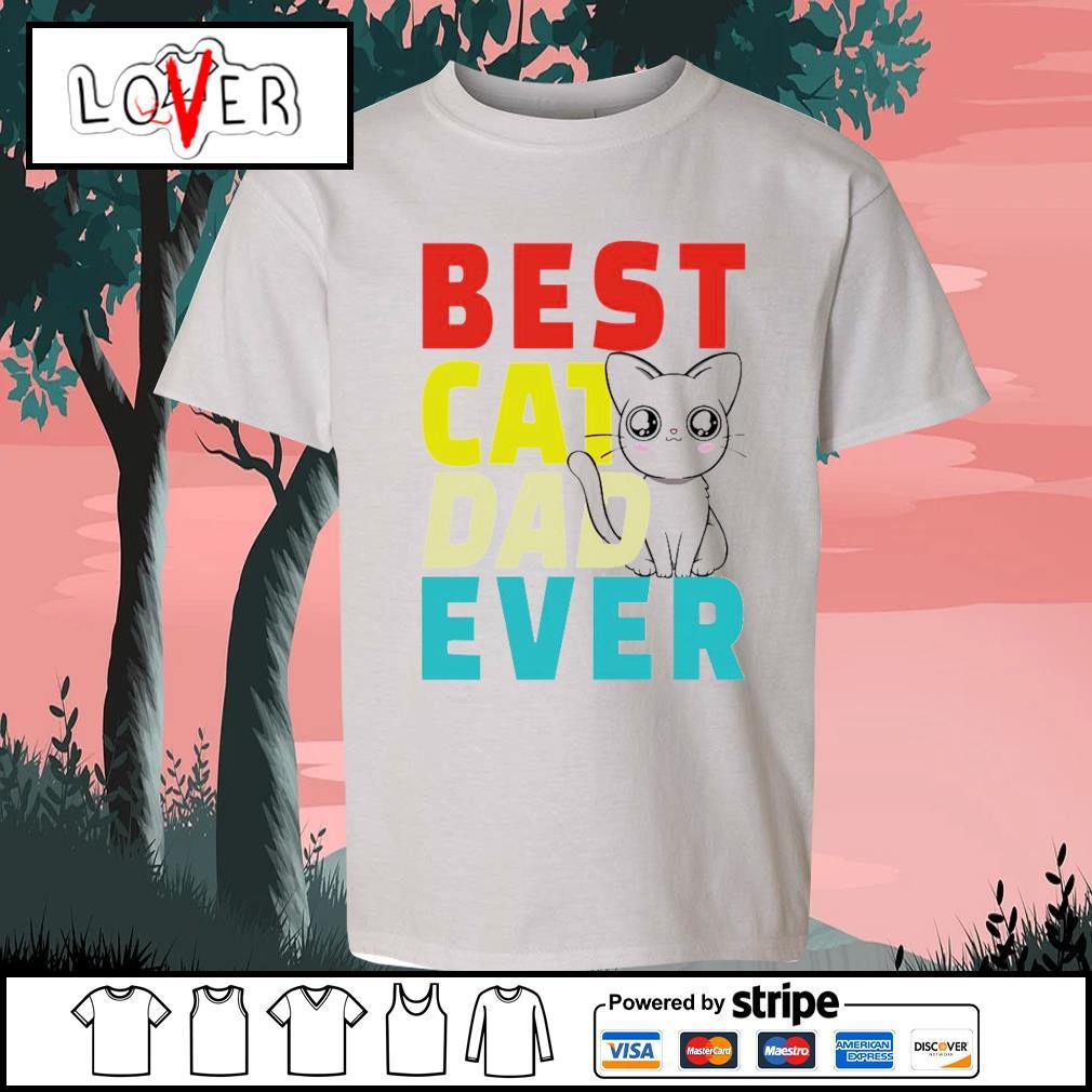 Best cat dad ever s Kid-T-shirt