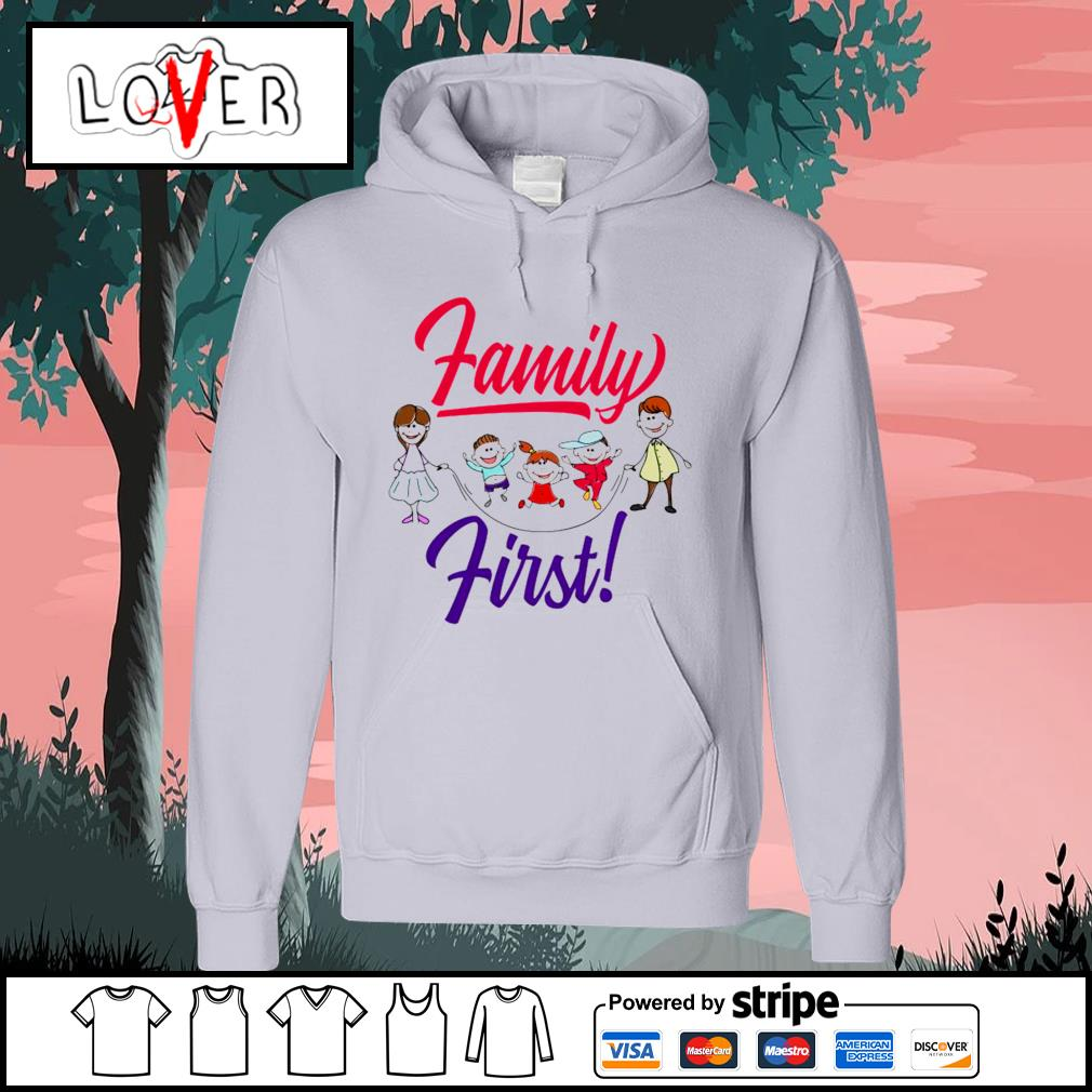 Children family first s Hoodie