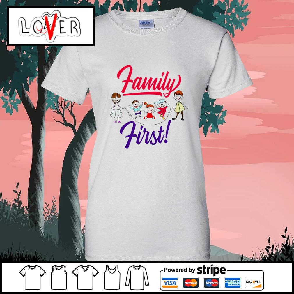 Children family first s Ladies-Tee