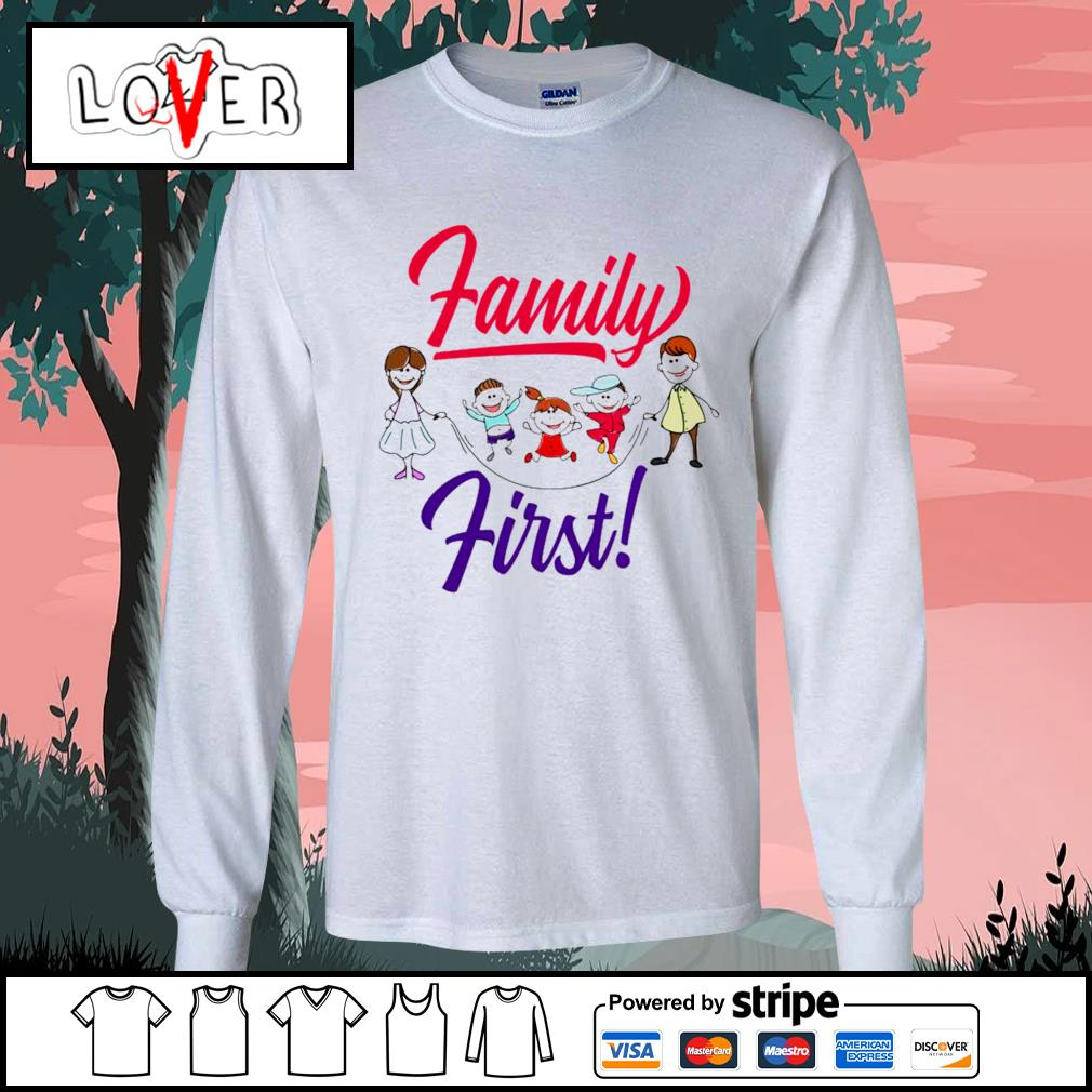 Children family first s Long-Sleeves-Tee