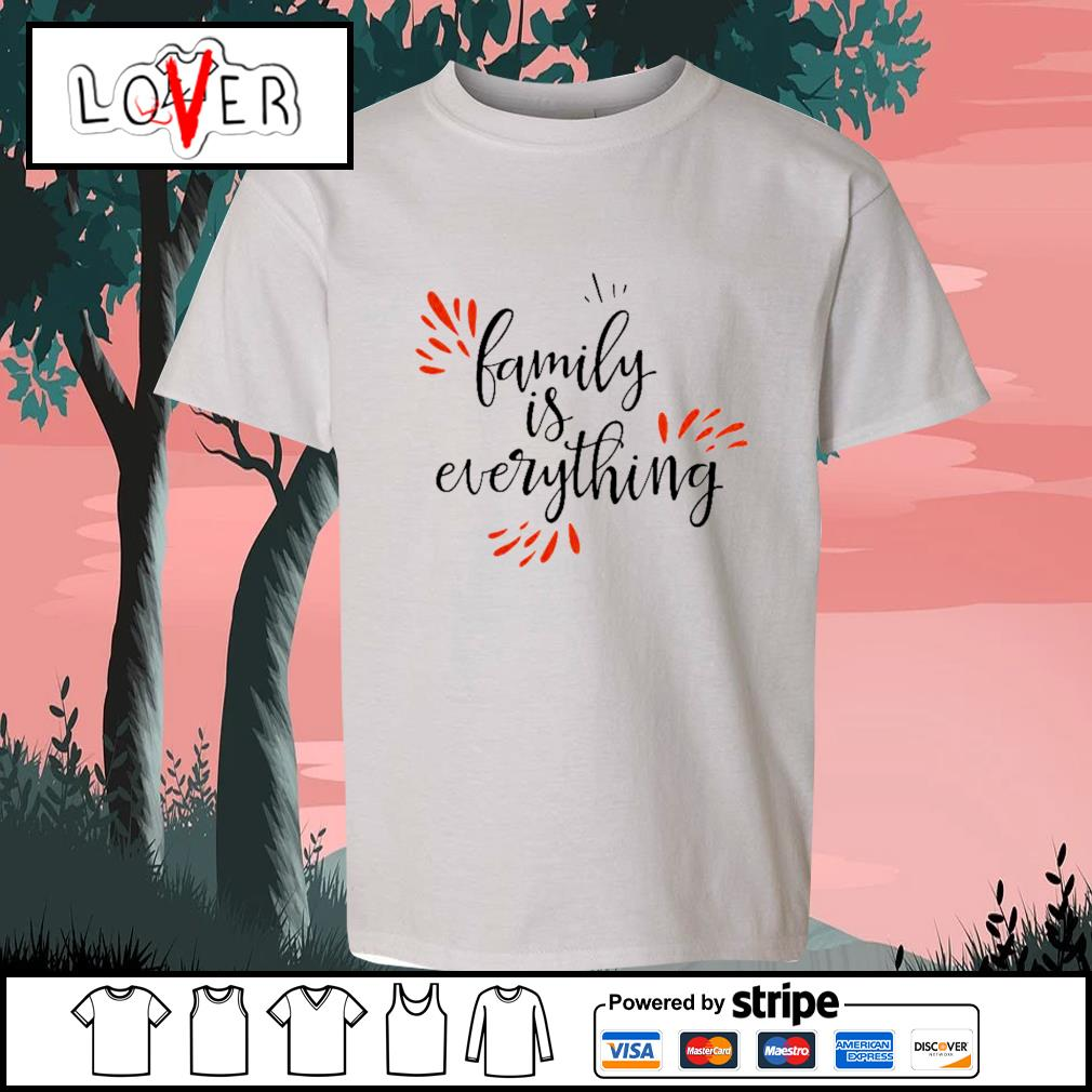 Family is everything s Kid-T-shirt