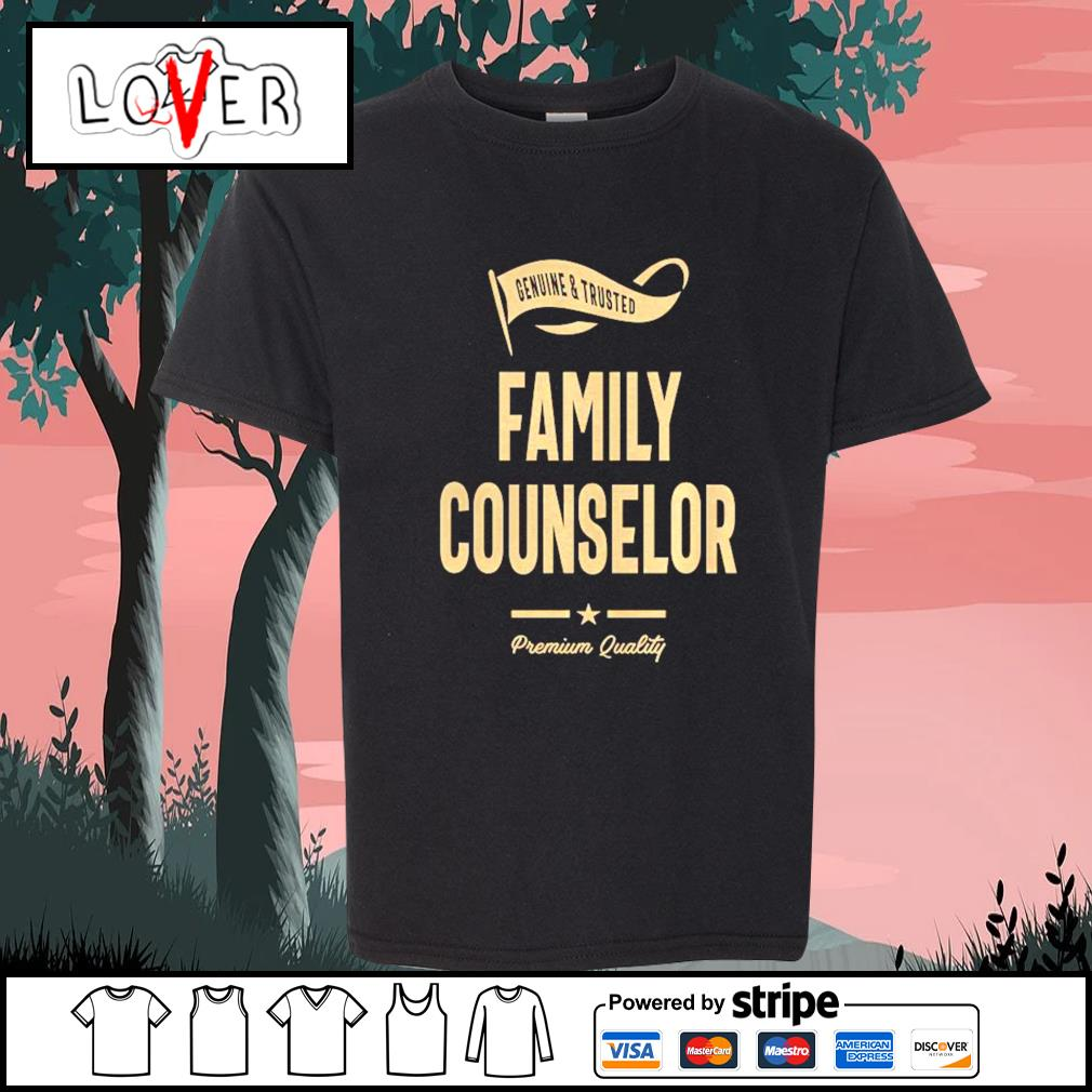 Genuine and trusted family counselor shirt premium quality s Kid-T-shirt