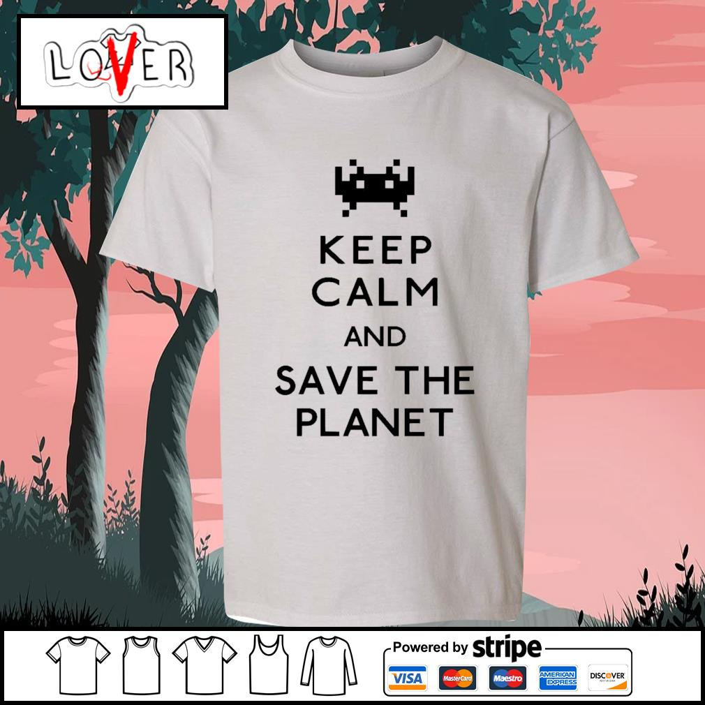 Keep calm and save the planet s Kid-T-shirt