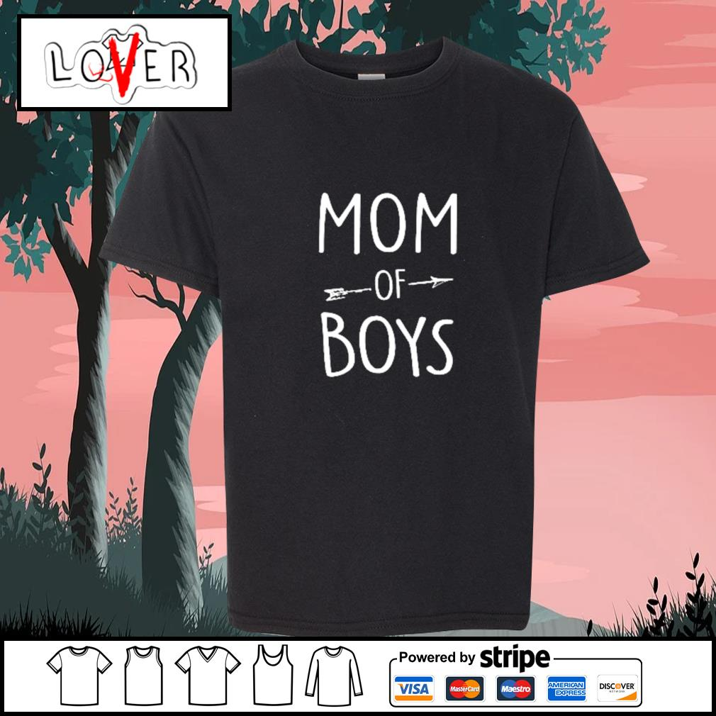 Mom of boys s Kid-T-shirt