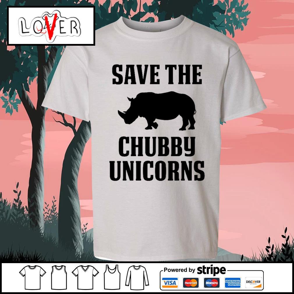 Save the Chubby Unicorns s Kid-T-shirt