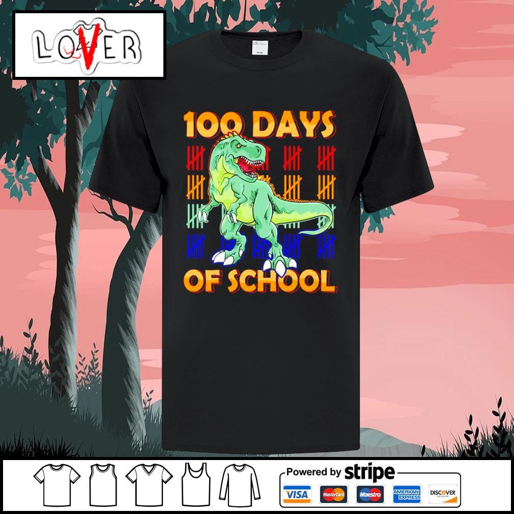 100 days of school Dinasour shirt