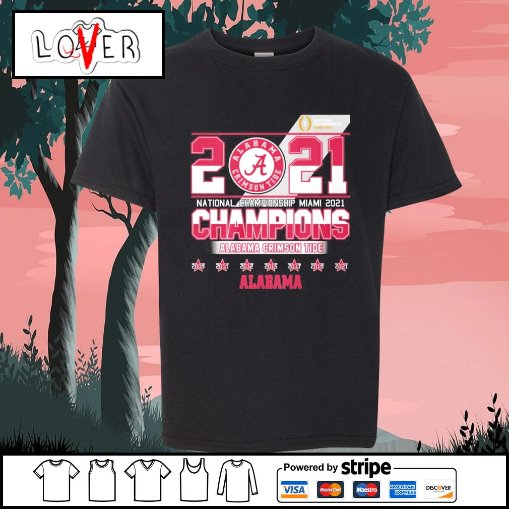 2021 national championship Miami 2021 champions Alabama Crimson Tide s Kid-T-shirt