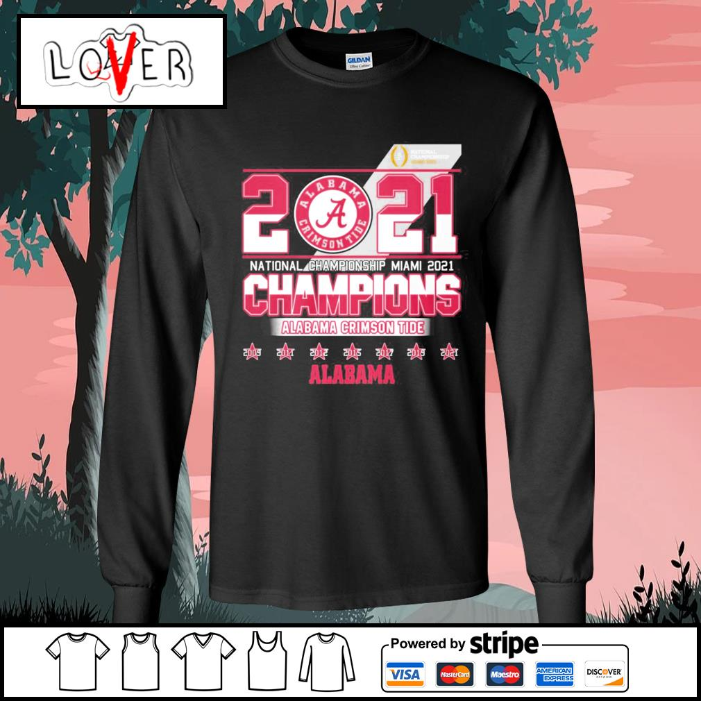 2021 national championship Miami 2021 champions Alabama Crimson Tide s Long-Sleeves-Tee