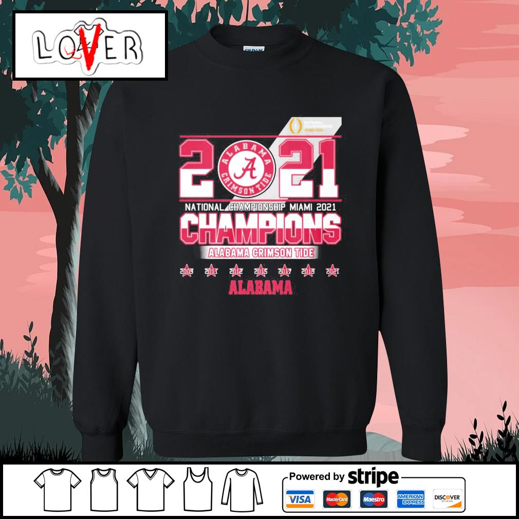 2021 national championship Miami 2021 champions Alabama Crimson Tide s Sweater