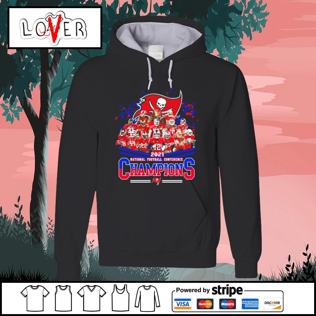 2021 national football conference Champions Tampa Bay Buccaneers s Hoodie