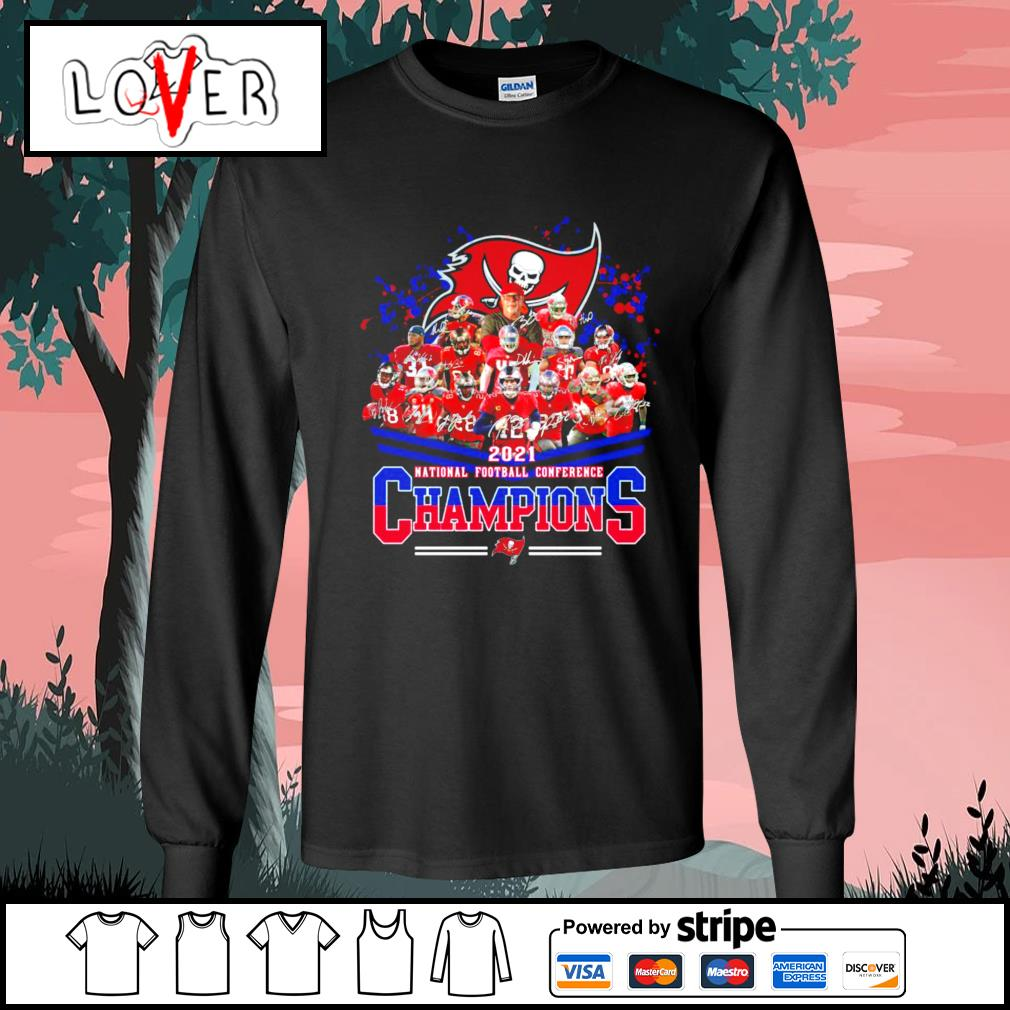 2021 national football conference Champions Tampa Bay Buccaneers s Long-Sleeves-Tee