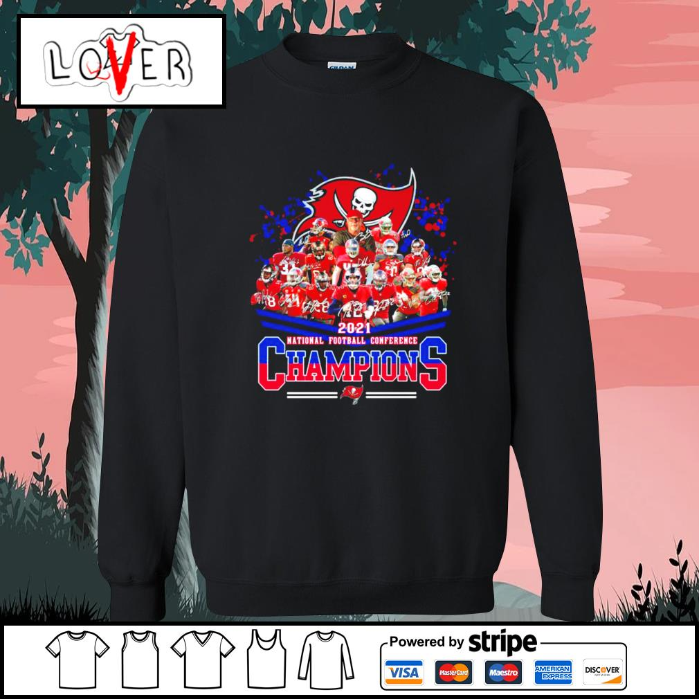 2021 national football conference Champions Tampa Bay Buccaneers s Sweater