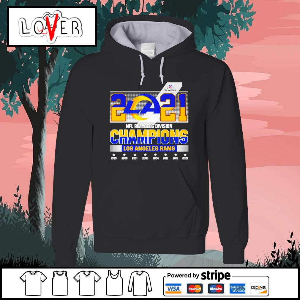 2021 NFL playoffs division champions Los Angeles Rams s Hoodie