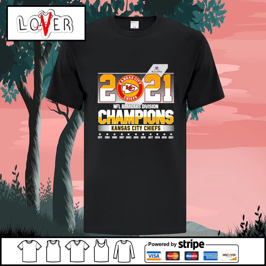 2021 NFL playoffs divisional champions Kansas City Chiefs shirt