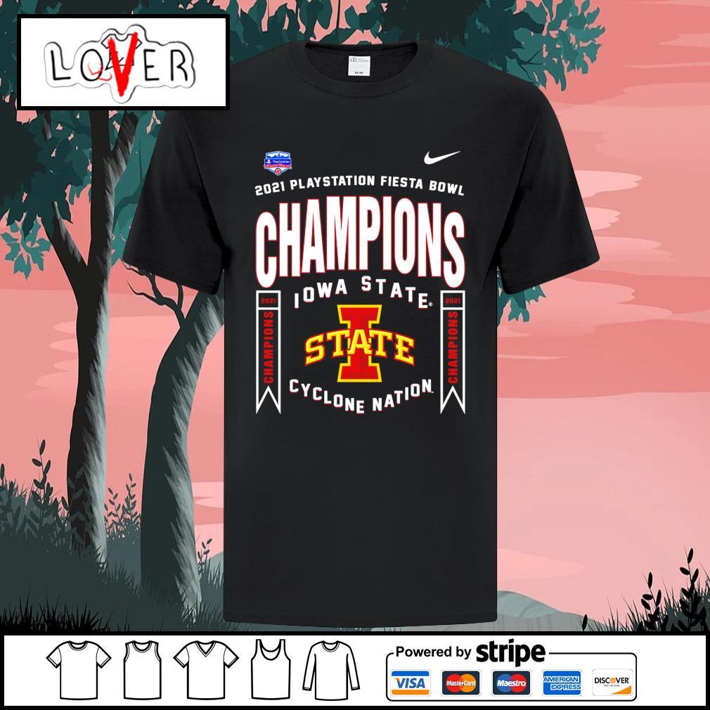 2021 playstation fiesta bowl champions Iowa State Cyclones nation shirt