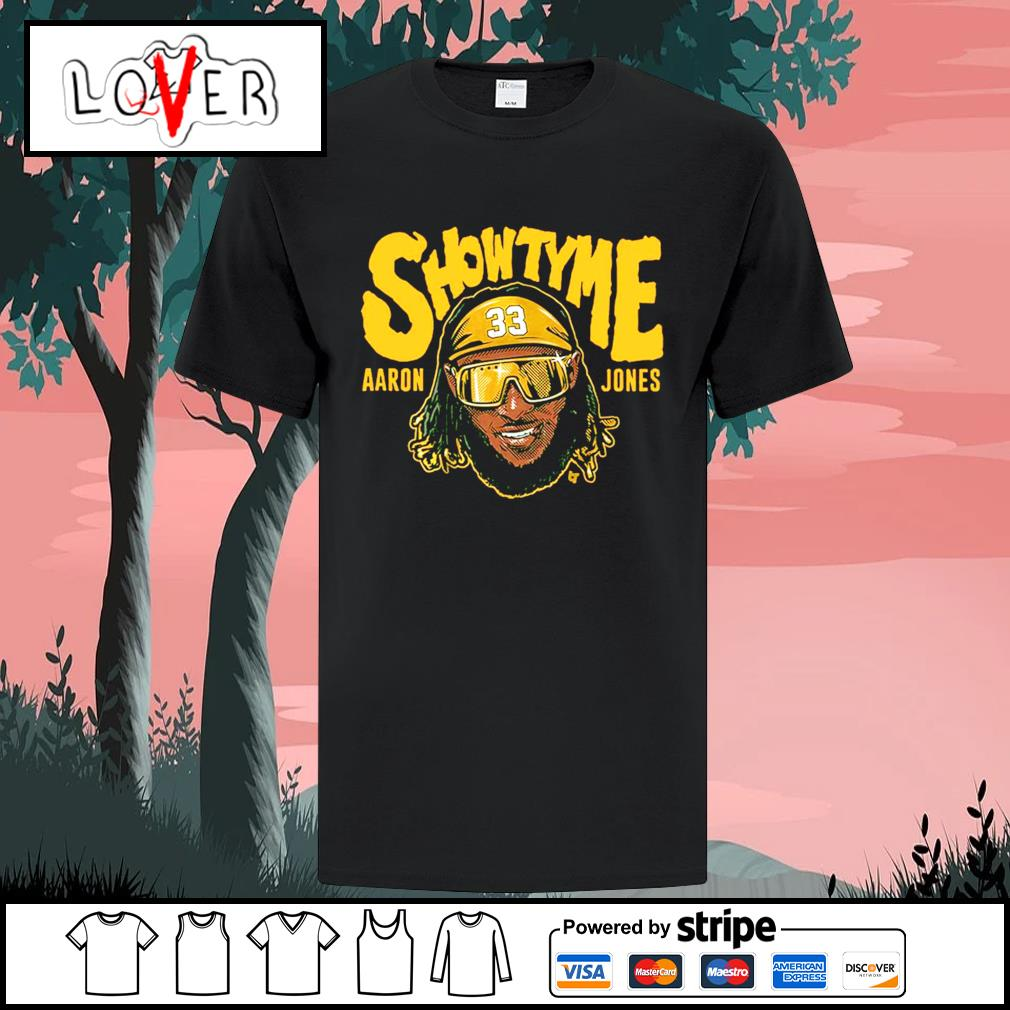Aaron Jones Green Bay Packers Showtyme shirt
