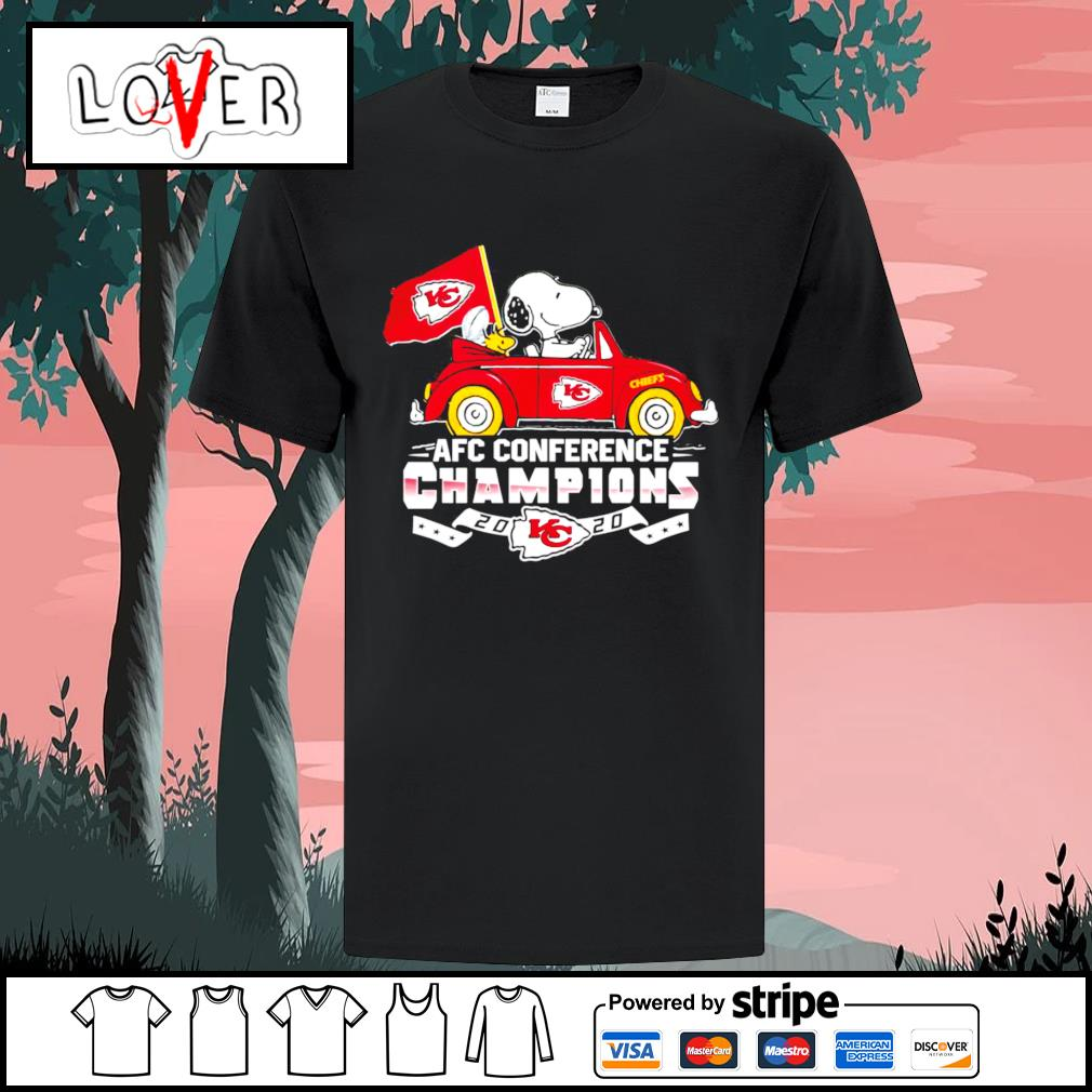 AFC conference champions 2020 Kansas City Chiefs Snoopy shirt